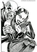 Vampires In Love by BryanBaugh