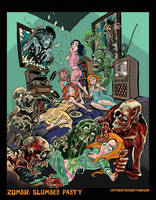 Zombie Slumber Party by BryanBaugh
