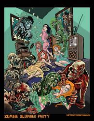 Zombie Slumber Party by BryanBaugh