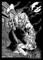 Madman Marz in BandW by BryanBaugh