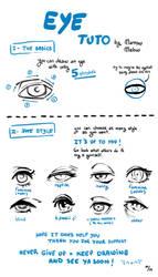 Eye Tutorial by MarrowMelow