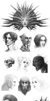 Warm ups 03 - Planescape Torment by coupleofkooks