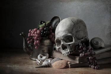 Memento Mori - old tea kettle by williamhwest
