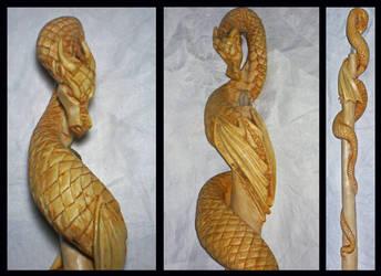 Winged Serpent 2 by Fandragon