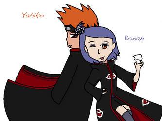 Happy Birthday Konan and Yahiko! 2013 by CongotehJackal