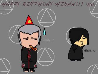 Happy Birthday Hidan! 2013 by CongotehJackal