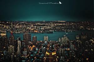 NY by Night by Slairea