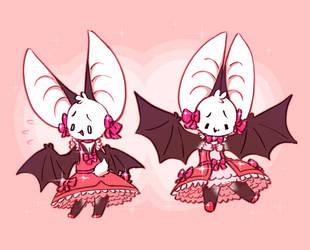 #FebsterMix | Day 4 | Bat + Magical Girl by Krocodilian