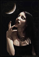 Under a funeral moon by ladymorgana