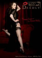 Ophelia Seamed Stockings by ladymorgana