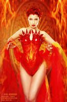 Fiery Red by ladymorgana