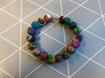 Coloured bracelet 18 by Gallerica