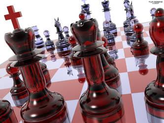 Chess Wallpaper 6 by TLBKlaus