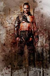 Spartacus Characters Digital Art by Mermaid619