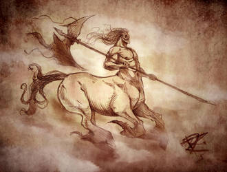 Fog Centaur by Chivohit