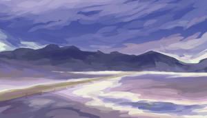 Land of Salt by MamoswineDraws