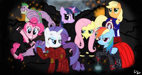 The Pony Avengers by Conbon94