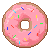 Donut Icon (F2U) by DominickLuhr