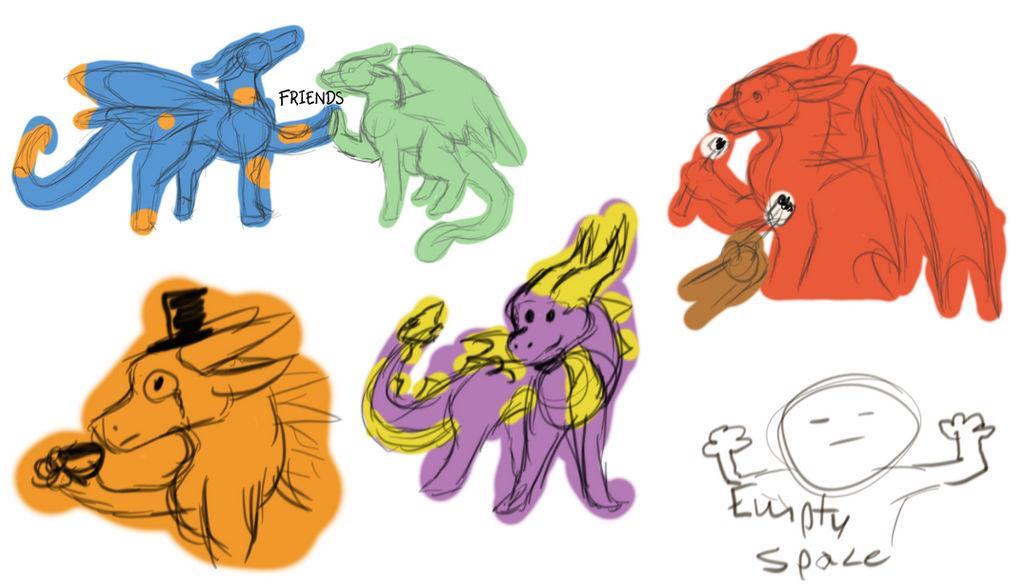 Doodle Dump by ShinyUumbreon