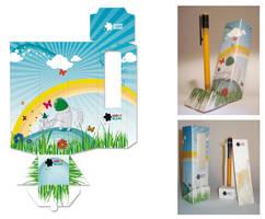 packaging by nenacuka
