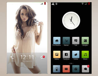 MIUI theme 2 preview by 00TypeR