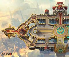 Half moba map by dawnpu