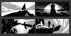 Study from movie by dawnpu