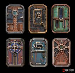 door design study by dawnpu