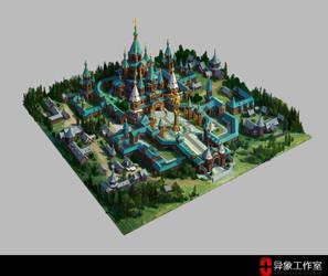 Victory city by dawnpu