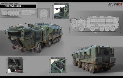 Vehicle design 2D+3D by dawnpu