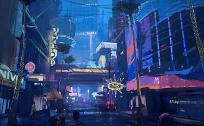 cyber world by dawnpu