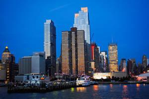 Night time NY by BigBaysen