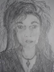 My Bellatrix Lestrange Sketch by Kaorinite24