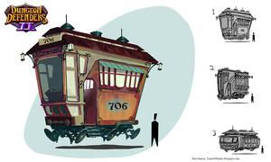Trolley by MrBlackCap