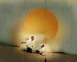 like the sun - wallpaper by yunyunsarang