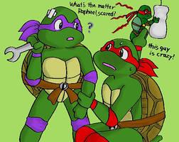 from lost fic Raphael fears... by koju327