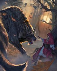 Big Bad Wolf Lvl2 by DiegoGisbertLlorens