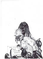 Blind Ronin Predator by PRED-ALEX