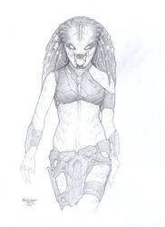 Female Predator#Concept 5 by PRED-ALEX