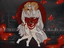 Shrine Maidens. by pumpkin-juice