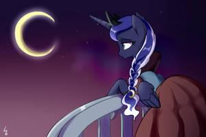 Lonely Princess Luna by Haden-2375