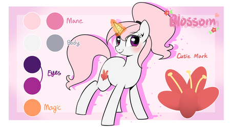OC Blossom's Profile by Haden-2375