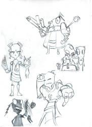 Invader Zim Art 1 by mrJINKS