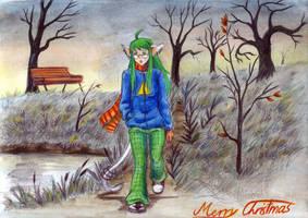 November Walk  For Chibimidori by CyanilurusJubatus