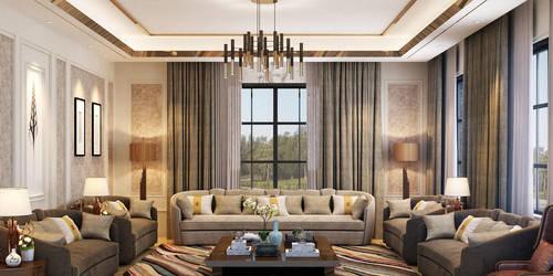 Cozy Reception Space by M-Salman