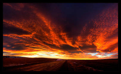 Sky Fire by FasterThanChris