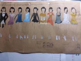 Shiromura Rinko 2015-2021 Costumes by Robianna07