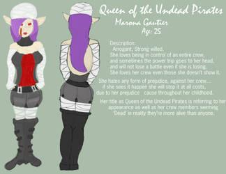 Marona Gautier::Queen Pirate by Kareiya