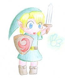 Chibi Link by GiniXD