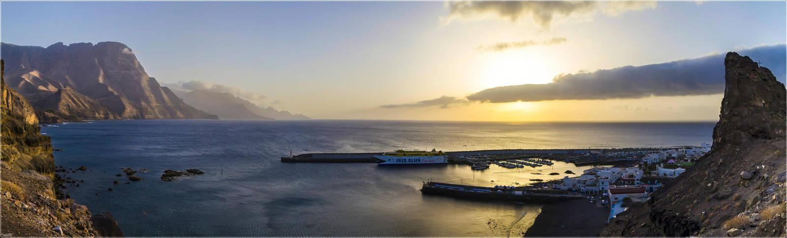 Puerto de Las Nieves by Kaslito